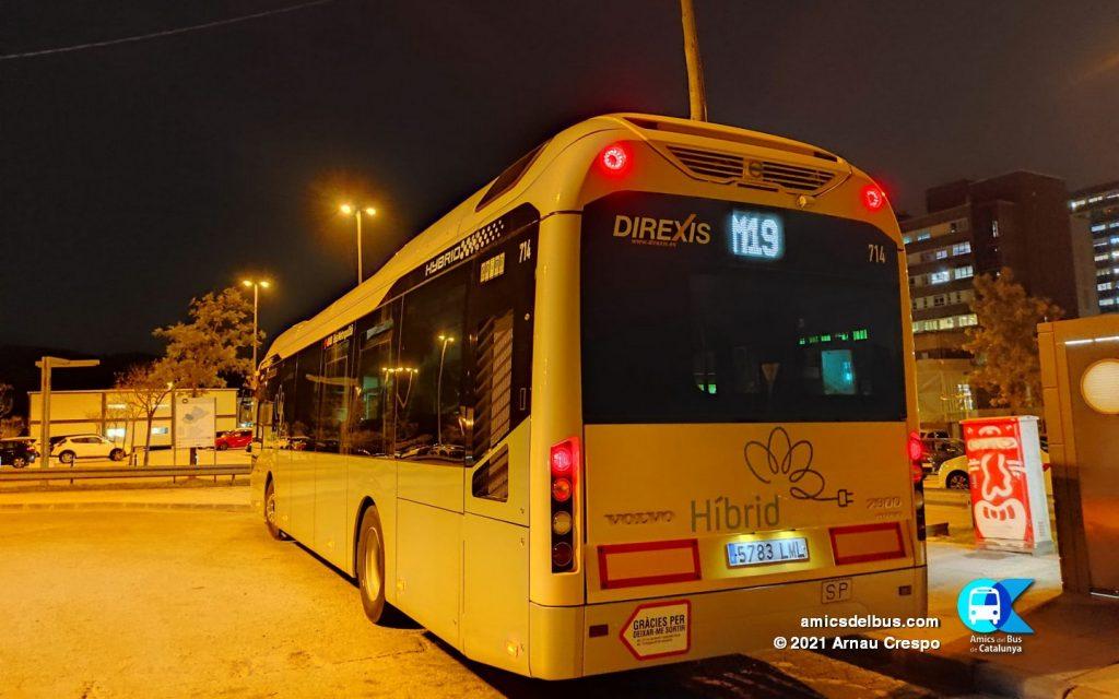 Volvo 7900 Hyb de Tusgsal amb calca 714 / Arnau Crespo